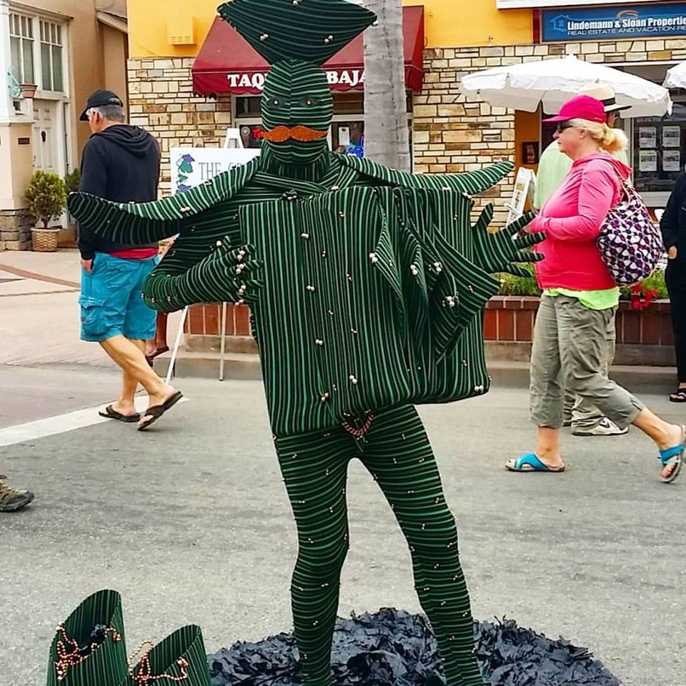 man with costume - Entertainment Capitola CA