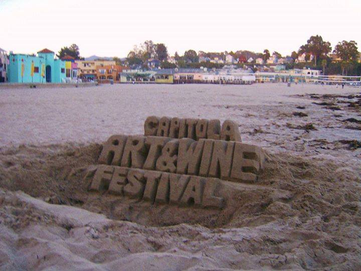 Capitola Art and Wine Sand Art - Gallery